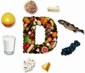 Продукты содержащие витамин D