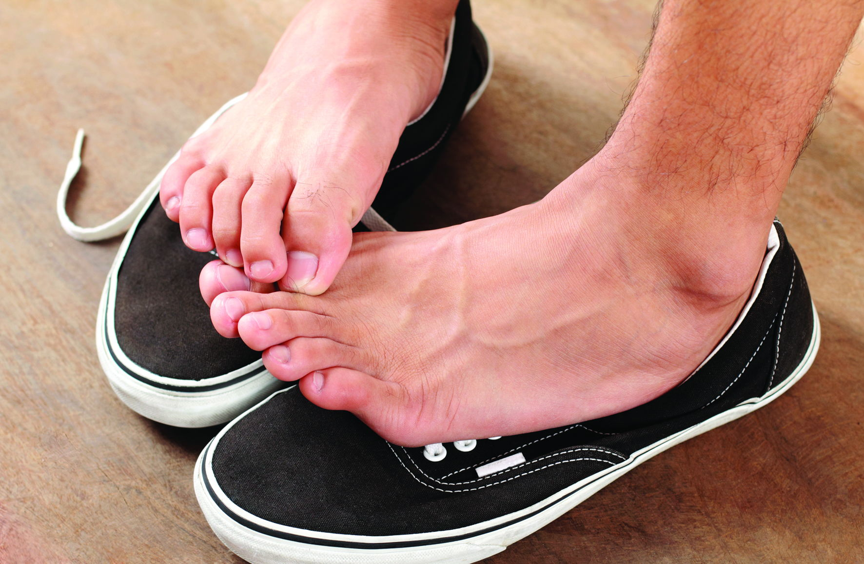 Зуд пальцев стопы