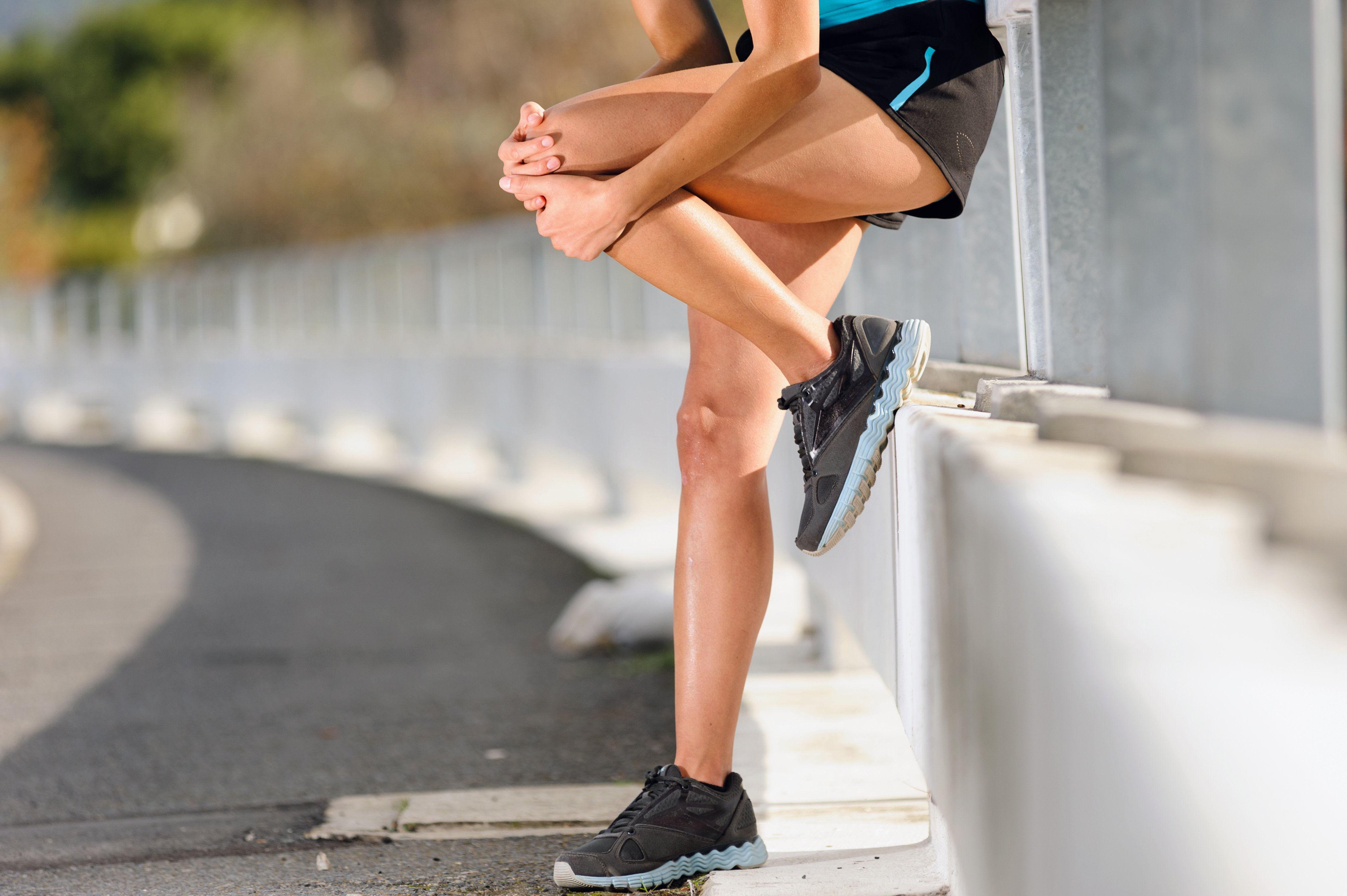 Боль после бега