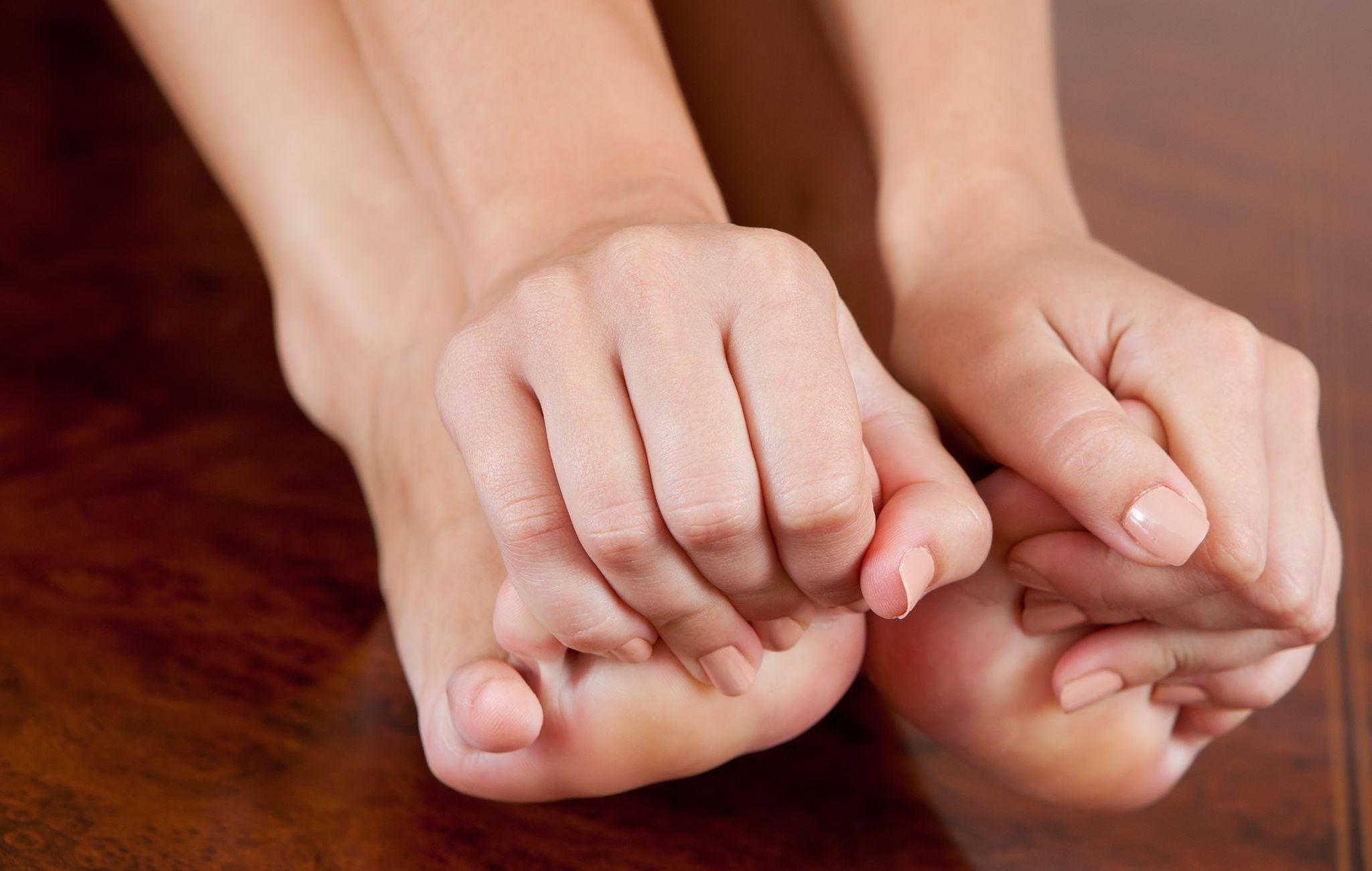 Чешутся ноги и пальцы