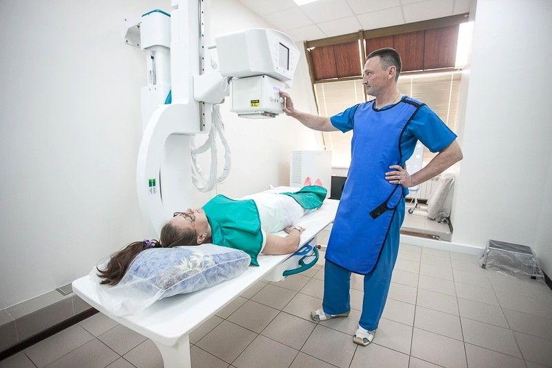 Процедура рентгера