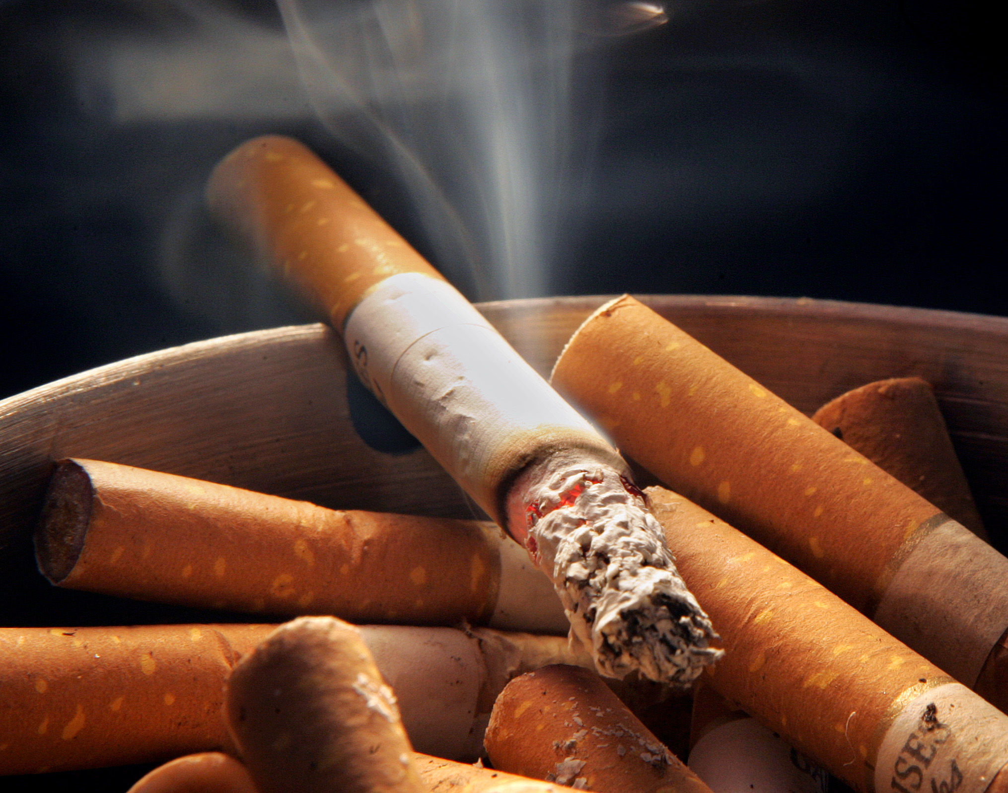 Длительное курение