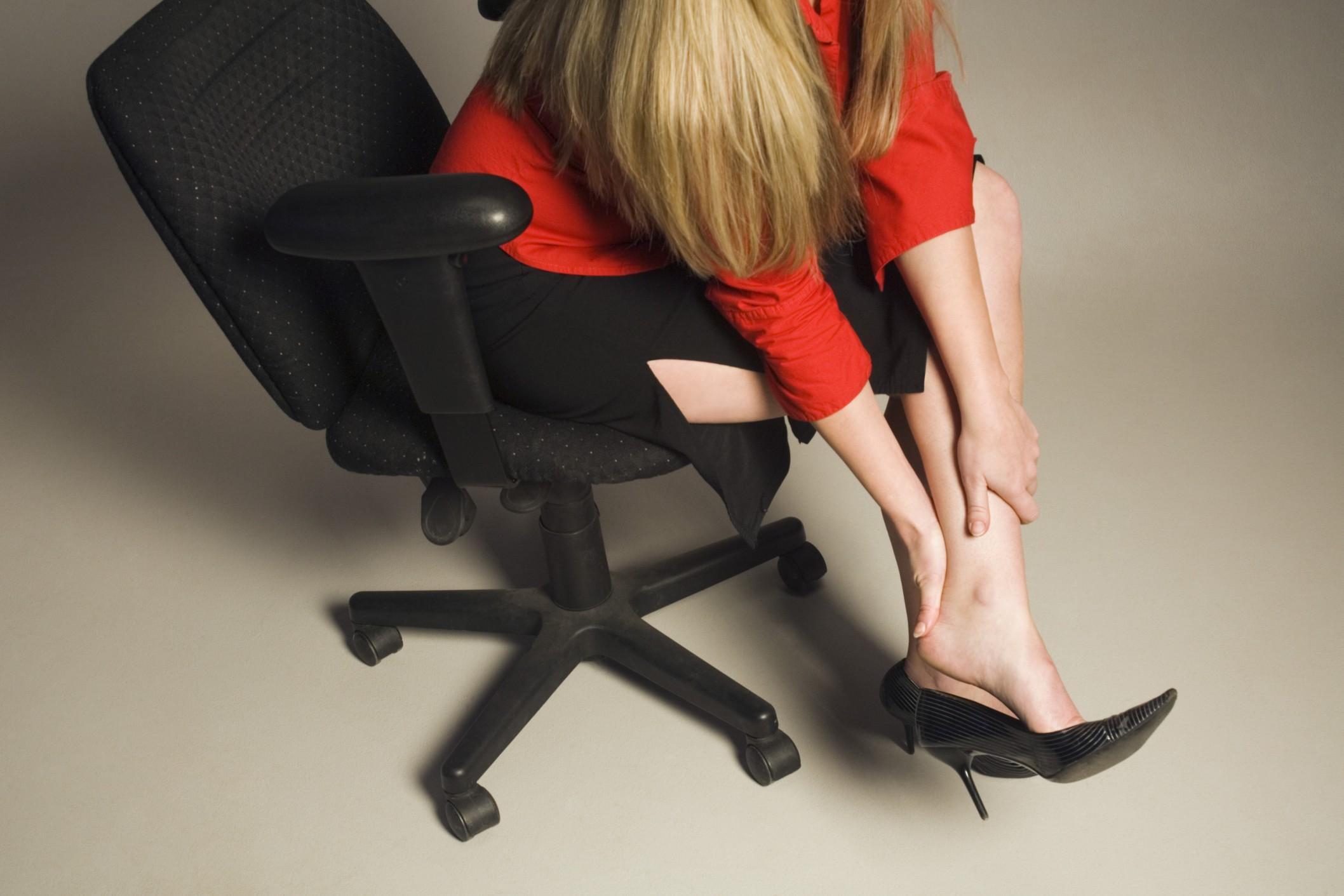 Боль из-за неправильной обуви
