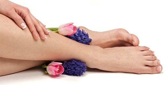 Состояние здоровых ног