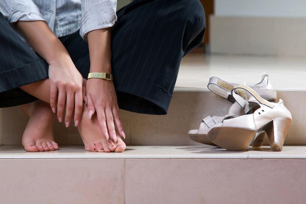 Обувь как причина отека