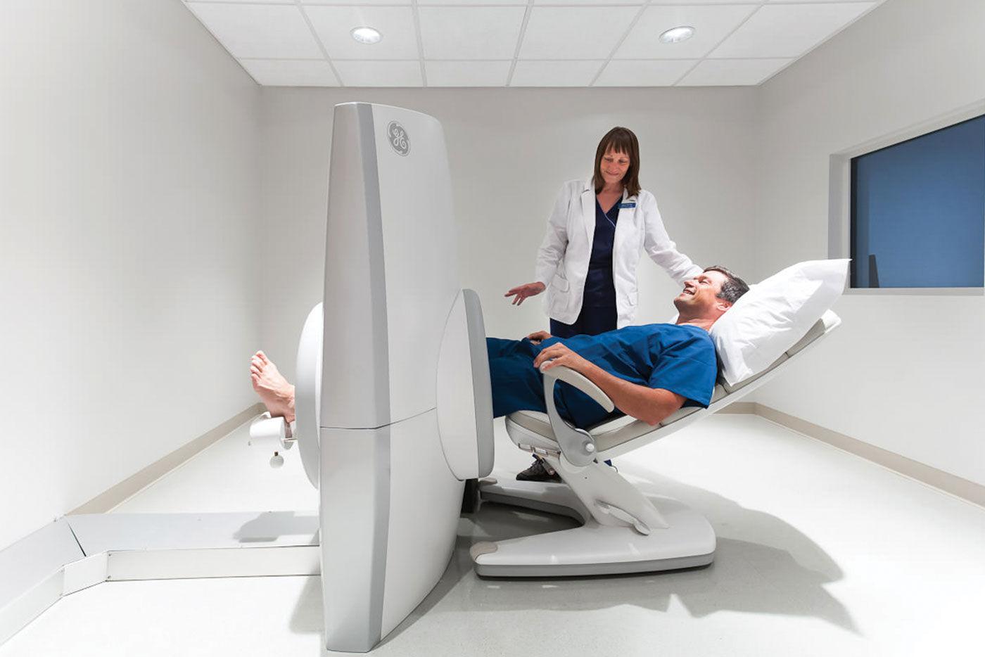 Получение снимка МРТ