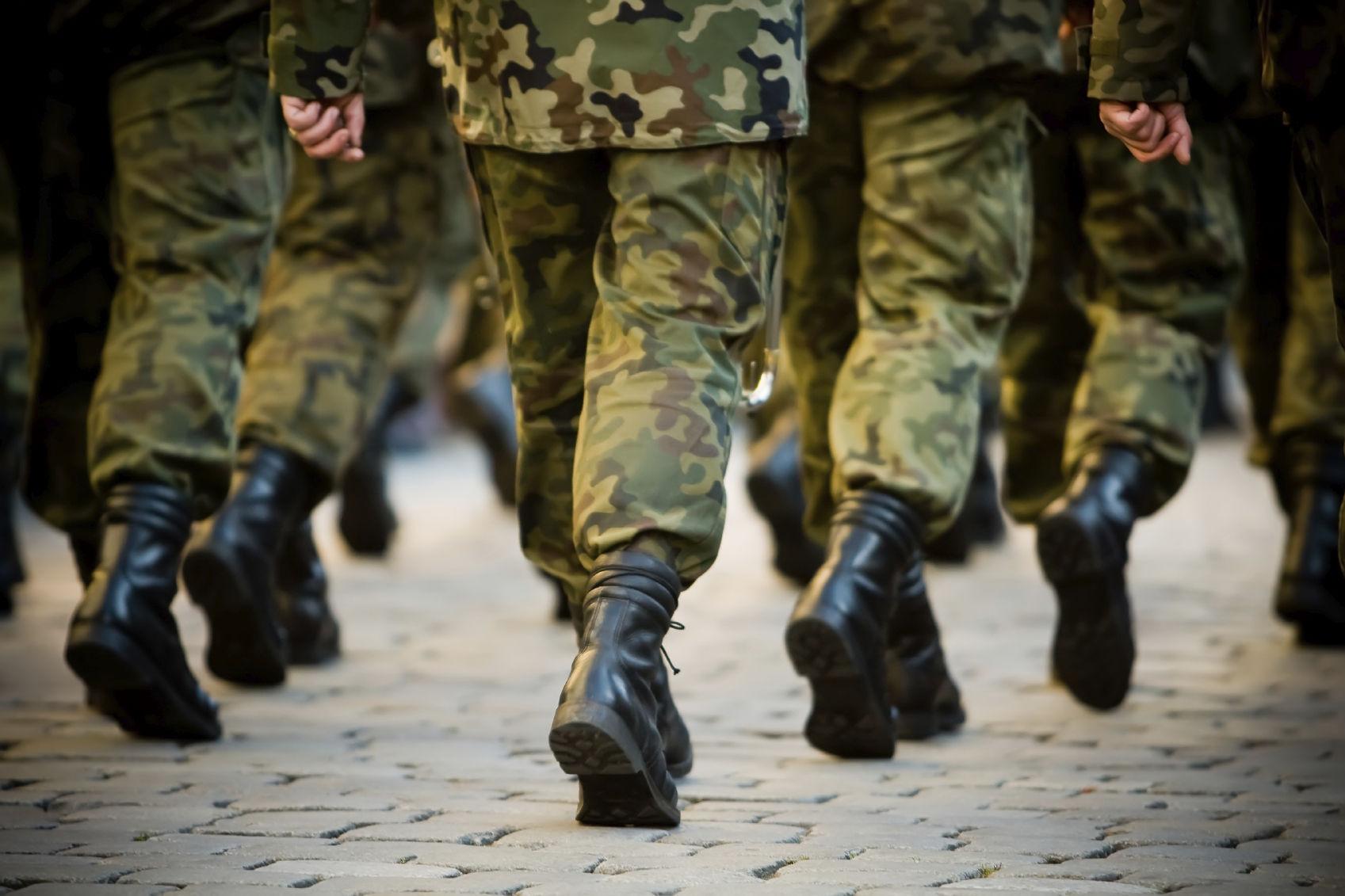 Грибок при призыве в армию