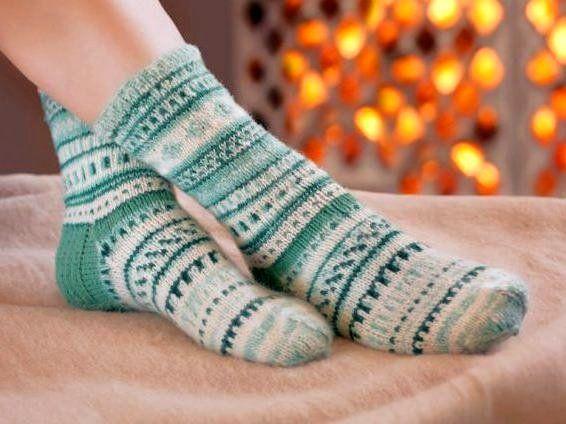 Теплые носки для ног
