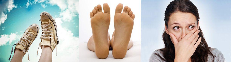 Неприятный аромат от ног