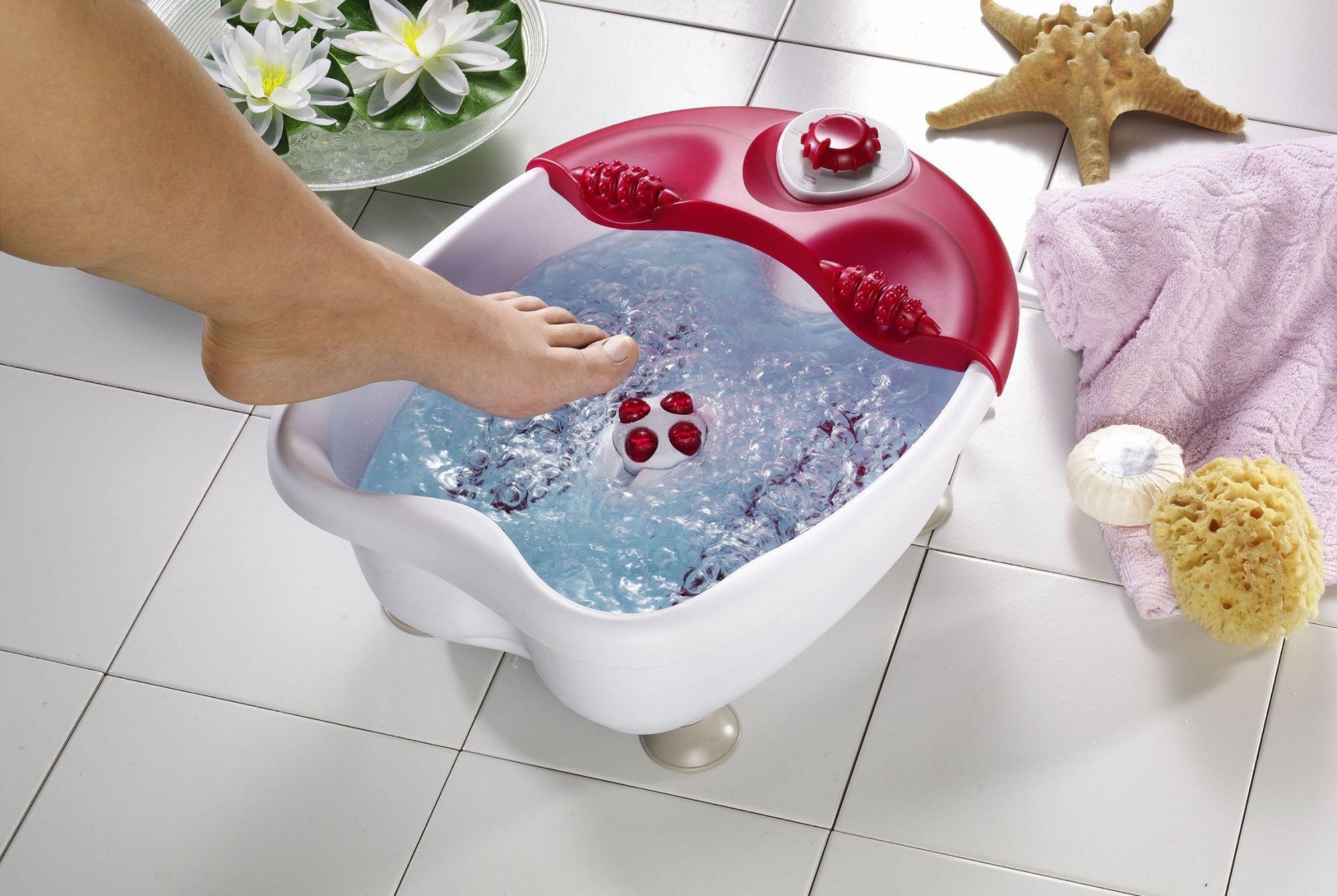 Ванночка с гидромассажем