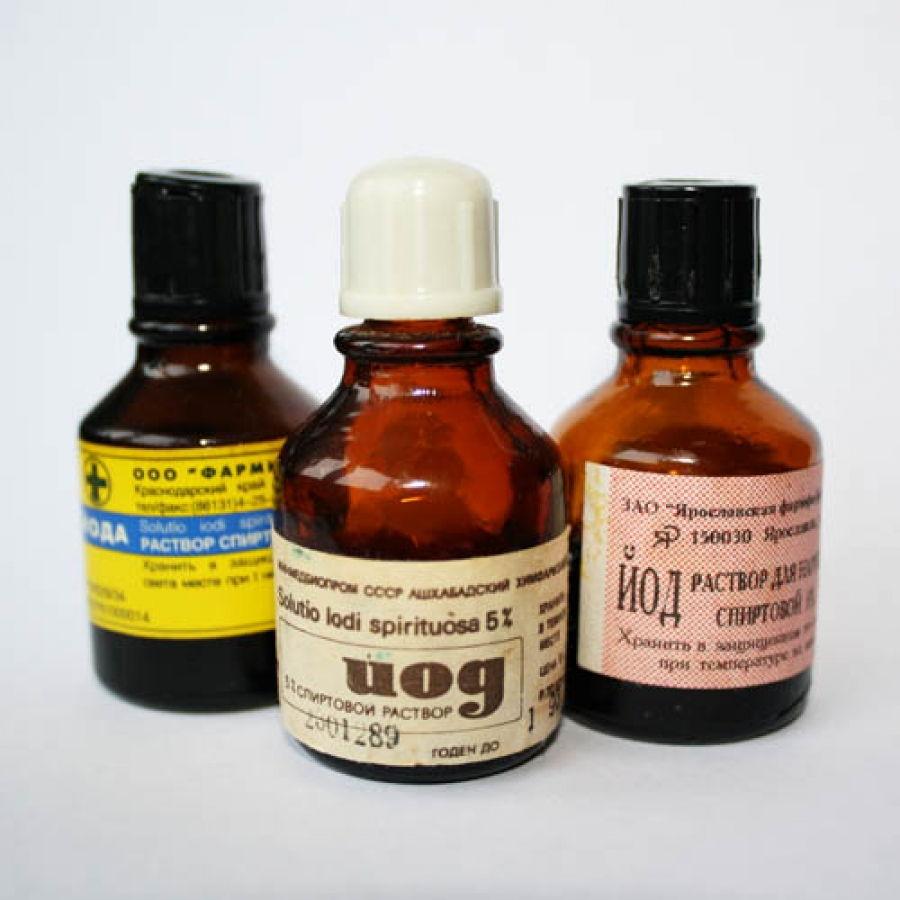 Лечение подагры йодом